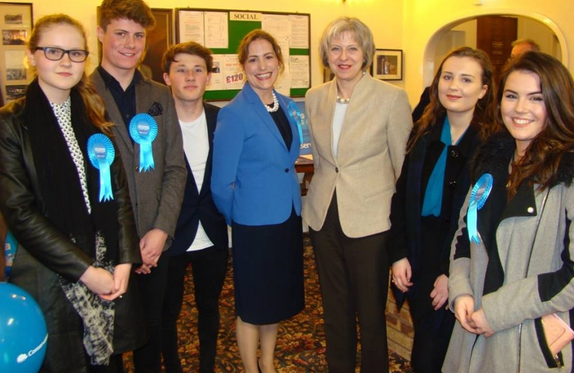 PM with young conservatives